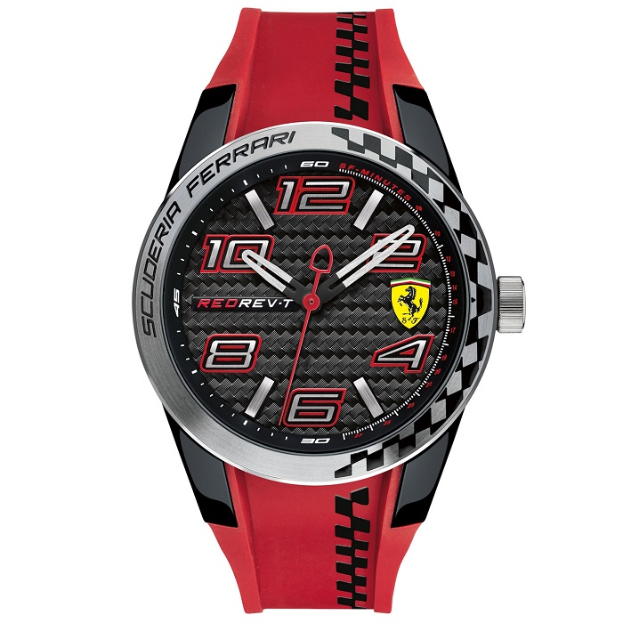 ferrari scuderia red rev-t 0830338